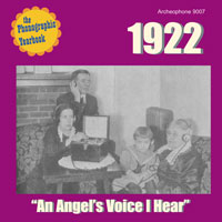 "1922: ""An Angel's Voice I Hear"""