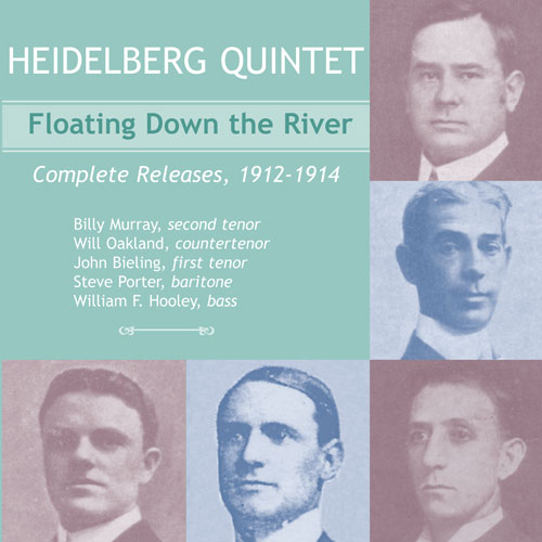 The Heidelberg Quintet featuring Billy Murray: Floating Down the River