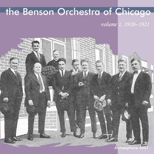 The Benson Orchestra of Chicago: The Benson Orchestra of Chicago, 1920-1921