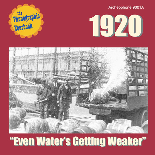 "Various Artists: 1920: ""Even Water's Getting Weaker"""