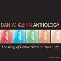 Anthology: The King of Comic Singers, 1894-1917 border=