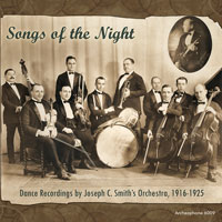 Songs of the Night: Dance Recordings, 1916-1925 border=