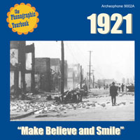 "1921: ""Make Believe and Smile"" border="