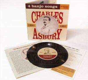Charles Asbury: 4 Banjo Songs, 1891-1897